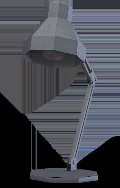Dark grey lamp